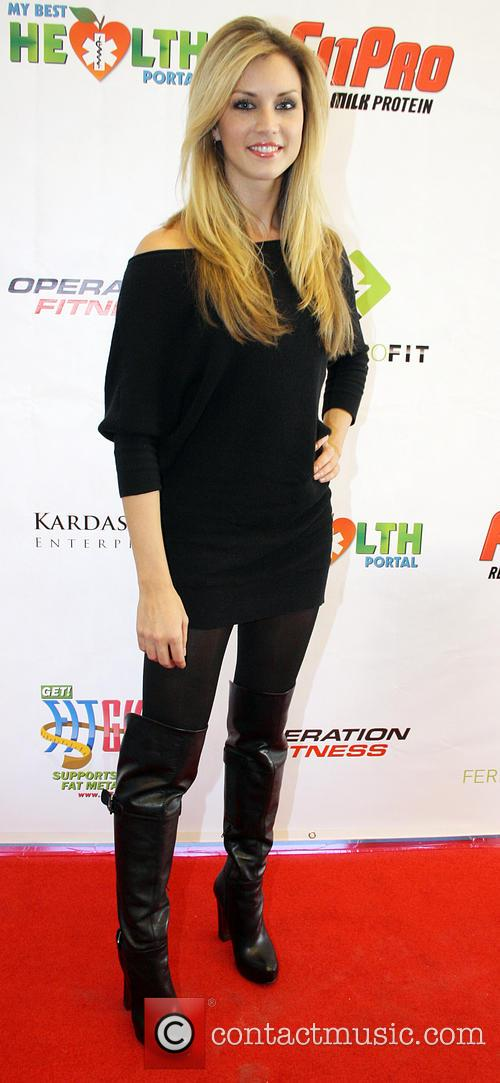 Tiffany Goodrich Operation Fitness Expo held at the...
