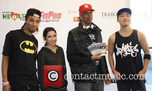 UFC Gym Breakers Operation Fitness Expo held at...