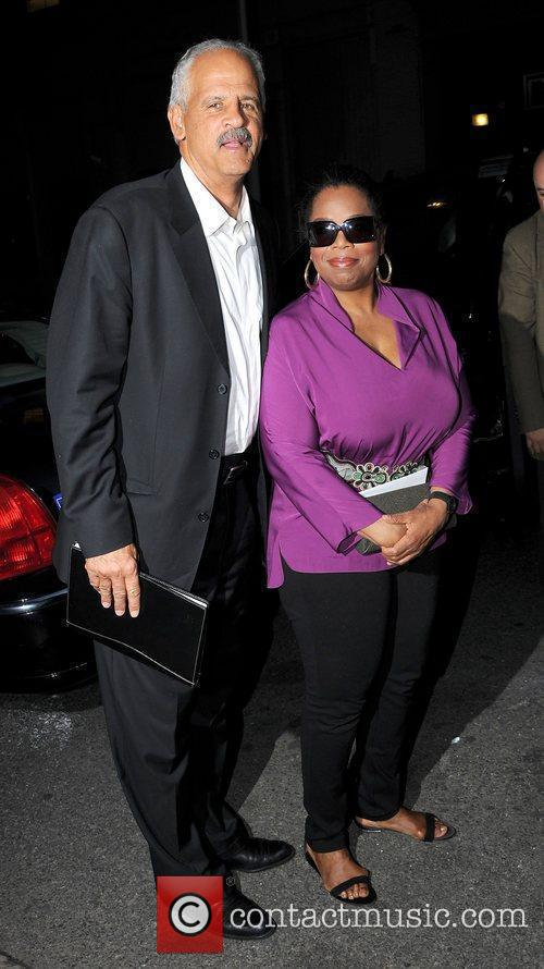Oprah Winfrey, ABC and Stedman Graham 2