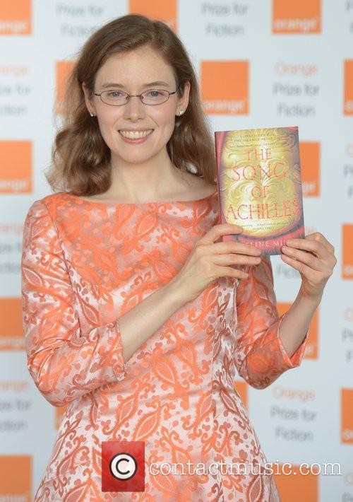 Madeline Miller at Orange prize for fiction at...