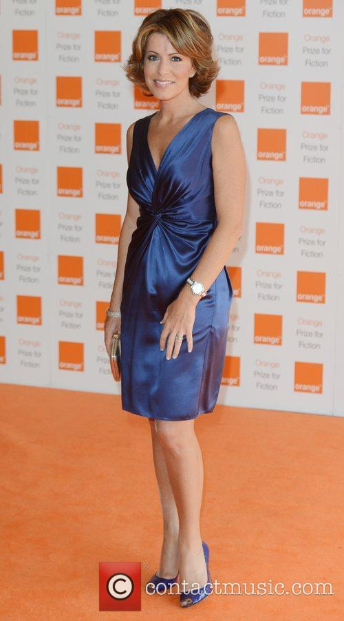 natasha kaplinsky at orange prize for fiction 3916849