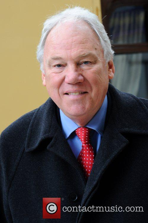 Peter Sissons  attend the launch of 'Orient...