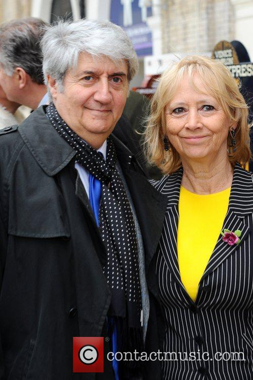 Tom Conti & Wife  attend the launch...