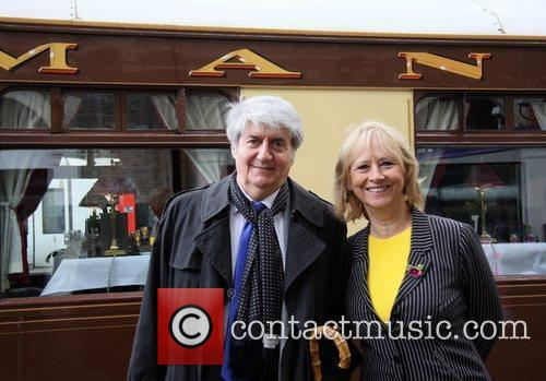 Tom Conti & Wife Launch of 'Orient Express:...