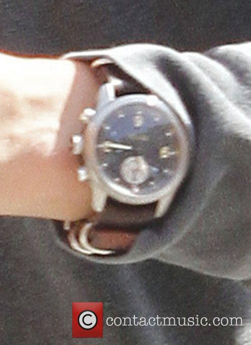 Orlando Bloom wrist watch Los Angeles, California