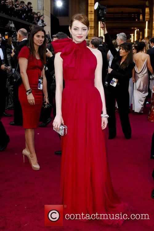 Emma Stone, Academy Of Motion Pictures And Sciences and Academy Awards 2