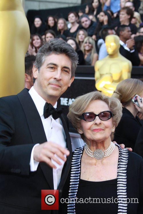 Alexander Payne and his mother Peggy Payne 84th...