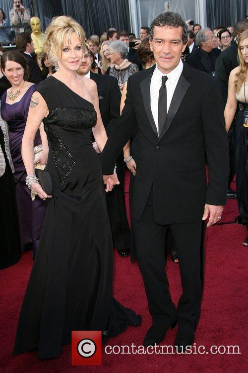Melanie Griffith, Antonio Banderas, Academy Of Motion Pictures And Sciences and Academy Awards 3