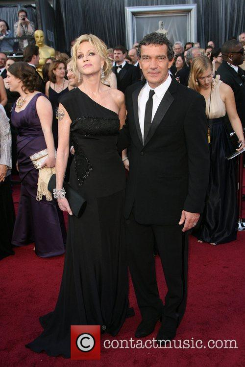 Melanie Griffith, Antonio Banderas, Academy Of Motion Pictures And Sciences and Academy Awards 5