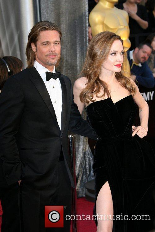 Brad Pitt, Angelina Jolie, Academy Of Motion Pictures And Sciences and Academy Awards 2