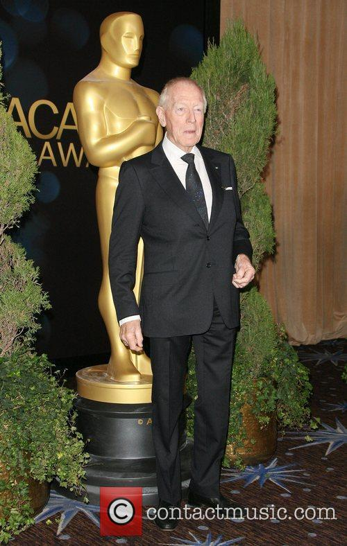 Max von Sydow 84th Academy Awards Nominations Luncheon...