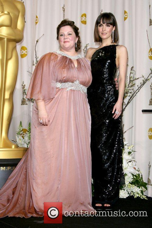 Melissa Mccarthy, Rose Byrne, Academy Of Motion Pictures And Sciences and Academy Awards 2