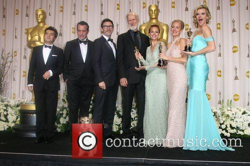 Thomas langmann 84th annual academy awards oscars held for Dujardin hazanavicius