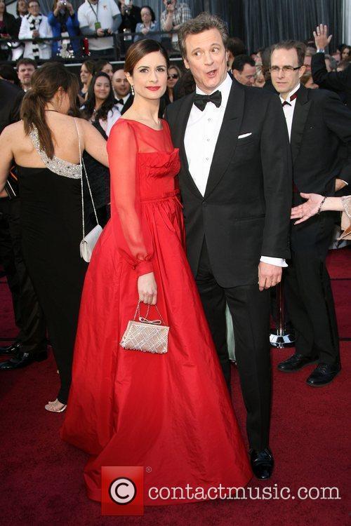 Colin Firth and Livia Giuggioli,