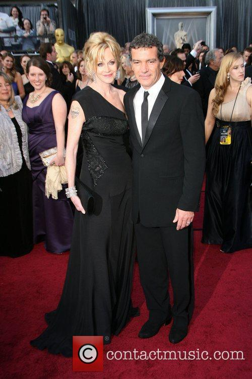 Melanie Griffith, Antonio Banderas, Academy Of Motion Pictures And Sciences and Academy Awards 2