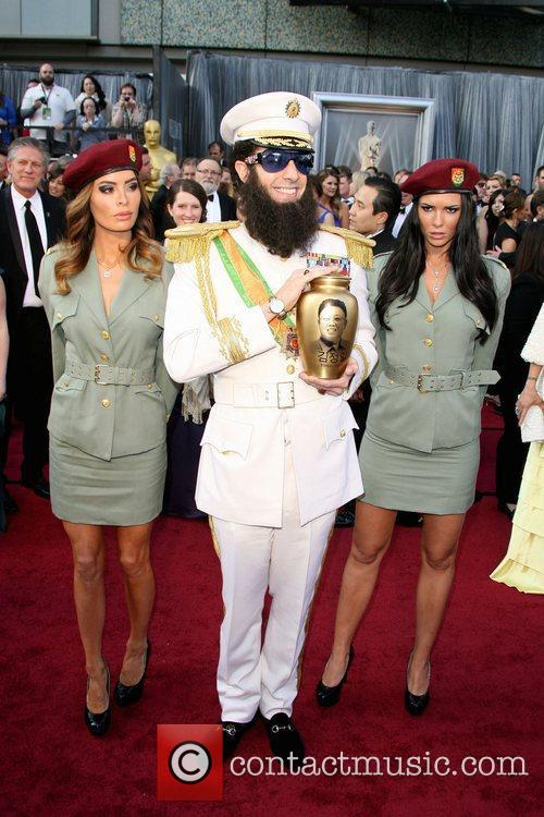 Sacha Baron Cohen, Academy Of Motion Pictures And Sciences and Academy Awards 2