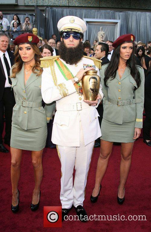 Sacha Baron Cohen, Academy Of Motion Pictures And Sciences and Academy Awards 4