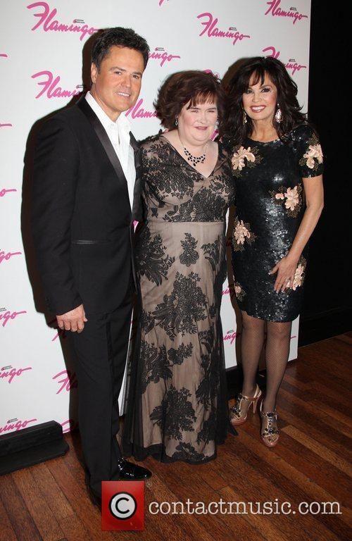 Donny Osmond, Susan Boyle and Marie Osmond...