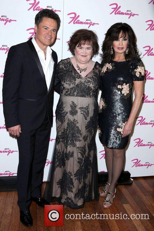 Donny Osmond, Susan Boyle and Marie Osmond 3