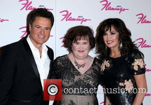 Donny Osmond, Susan Boyle and Marie Osmond 2