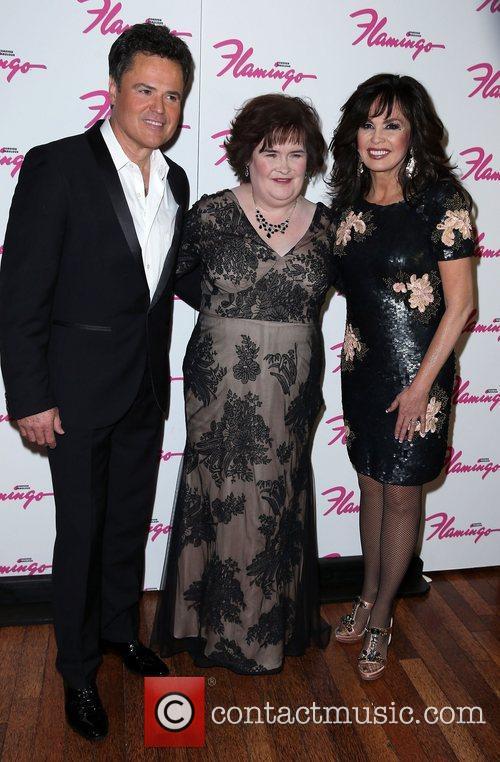 Donny Osmond, Susan Boyle and Marie Osmond 1