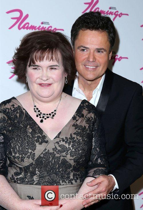 Susan Boyle makes a guest appearance at the...