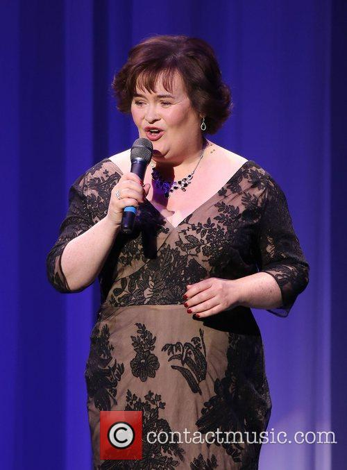 Susan Boyle performs during the Donny & Marie...