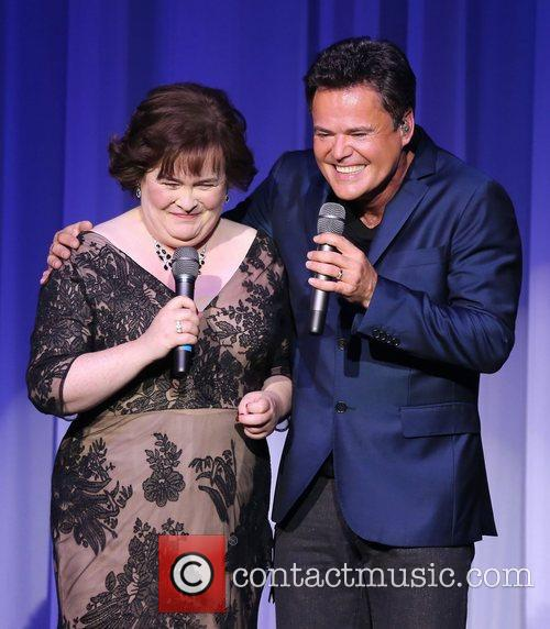 Susan Boyle, Donny Osmond, Marie Show, The Flamingo Hotel and Casino 6
