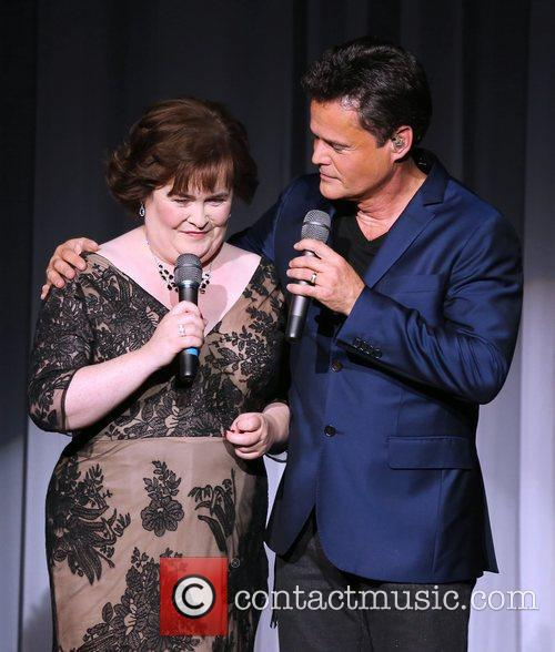 Susan Boyle, Donny Osmond, Marie Show, The Flamingo Hotel and Casino 10