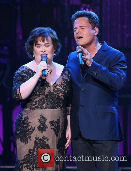 Susan Boyle, Donny Osmond, Marie Show, The Flamingo Hotel and Casino 11