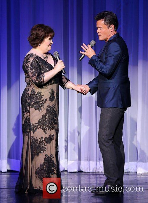 Susan Boyle, Donny Osmond, Marie Show, The Flamingo Hotel and Casino 9
