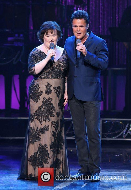 Susan Boyle, Donny Osmond, Marie Show, The Flamingo Hotel and Casino 7