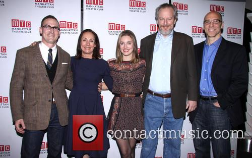 Sharr White, Laurie Metcalf, Zoe Perry, Daniel Stern and John Schiappa 1