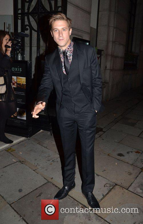 Arthur Darvill after appearing in a performance of...