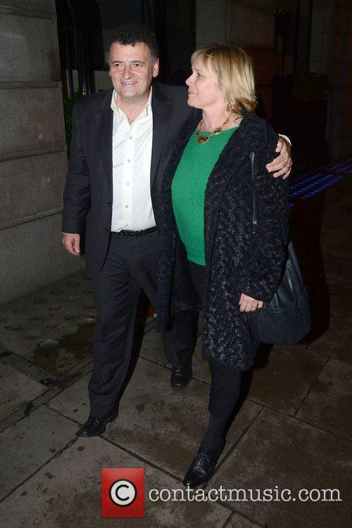 Steven Moffat after attending a showing of 'Our...