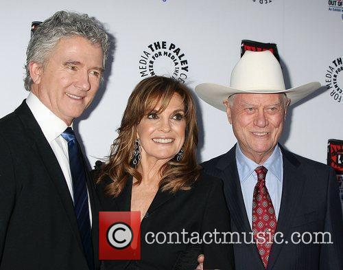 Patrick Duffy, Larry Hagman, Linda Gray and Paley Center for Media 2