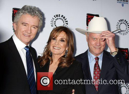Patrick Duffy, Larry Hagman, Linda Gray and Paley Center for Media 1