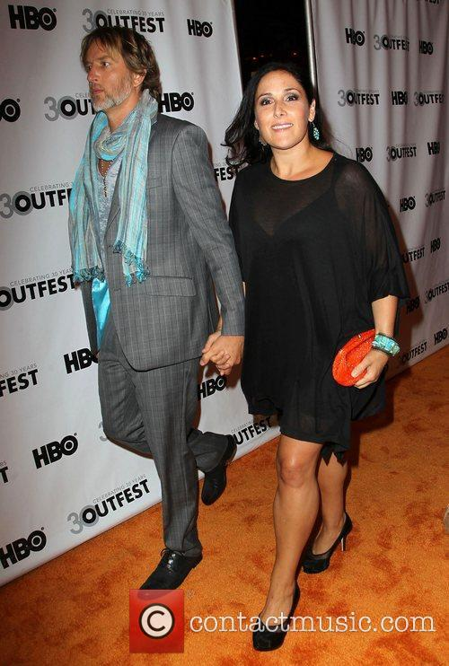 Ricki Lake and husband Christian Evans The 2012...
