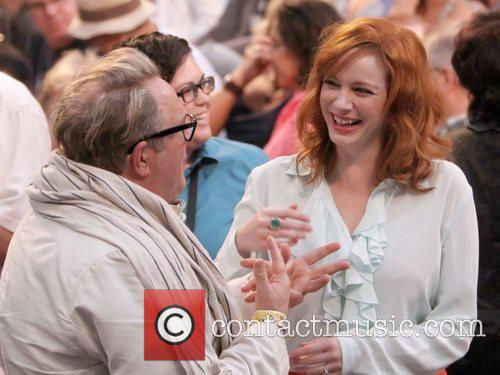 Brian Dannelly and Christina Hendricks 4