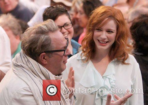Brian Dannelly and Christina Hendricks 5