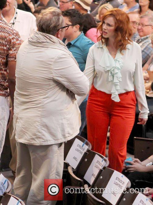 Brian Dannelly and Christina Hendricks 1