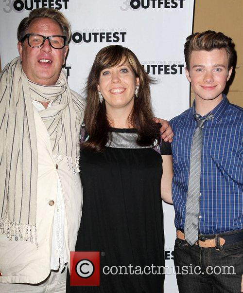 Brian Dannelly and Chris Colfer 3