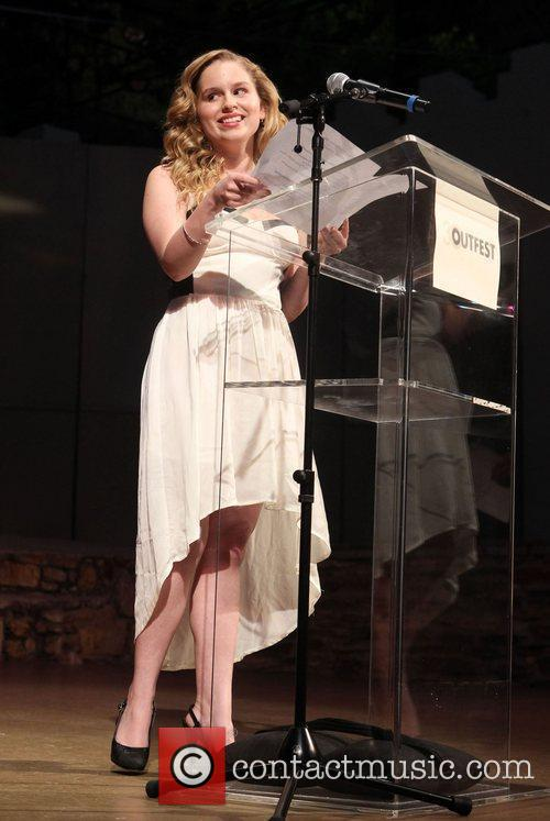 Allie Grant Closing Night Gala 2012 Outfest Ceremony...