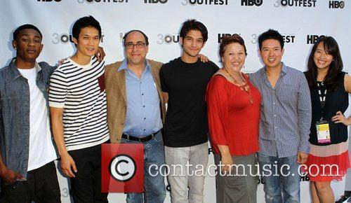 Tyler Posey, Amy Hill and Quentin Lee 2