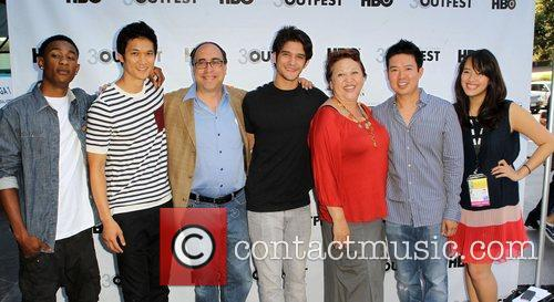 Tyler Posey, Amy Hill and Quentin Lee 3
