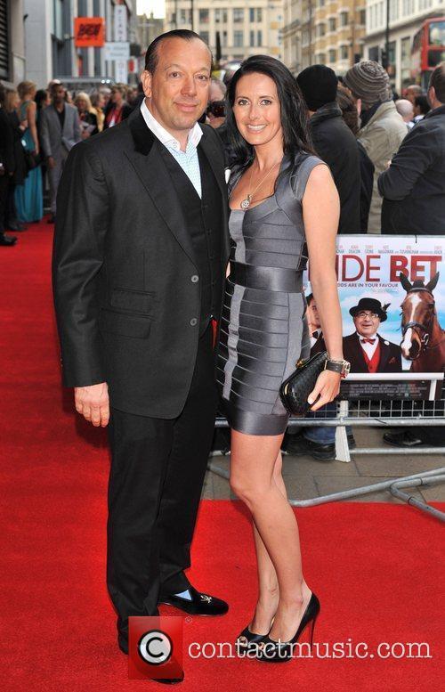 Guests Outside Bet - UK film premiere held...