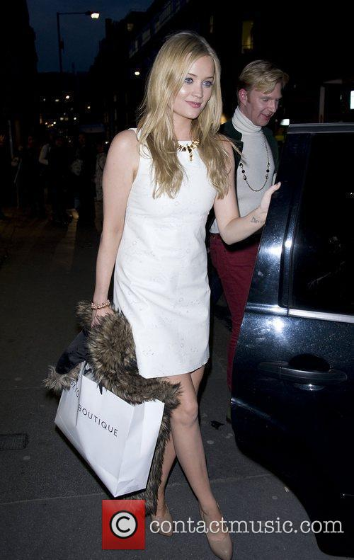 Laura Whitmore at My Flash Trash & Oxygen...