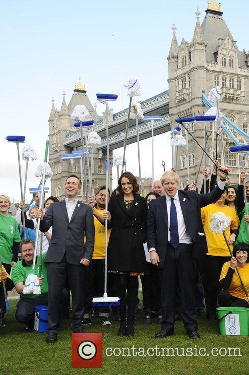 Boris Johnson and Keeley Hawes 2
