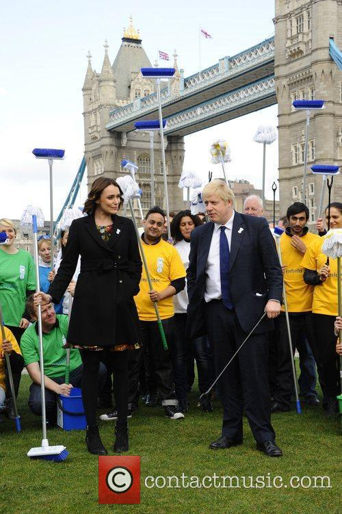Boris Johnson and Keeley Hawes 5