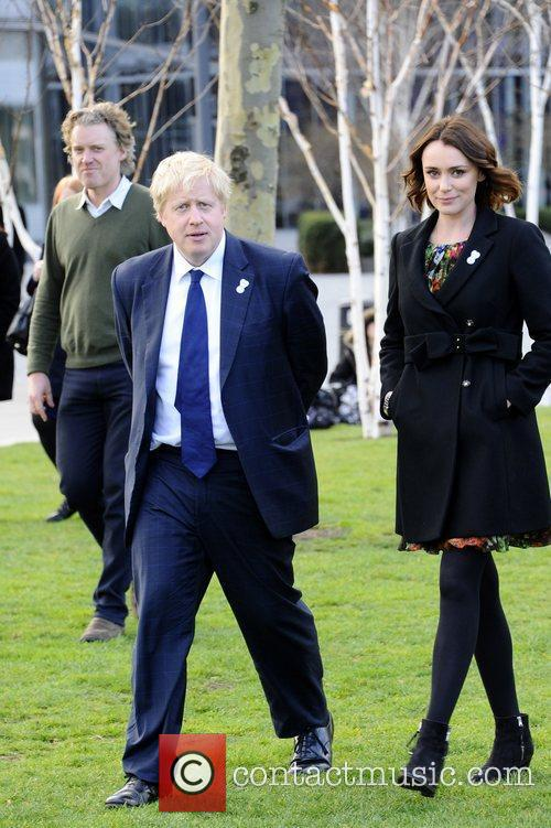 Boris Johnson and Keeley Hawes 6